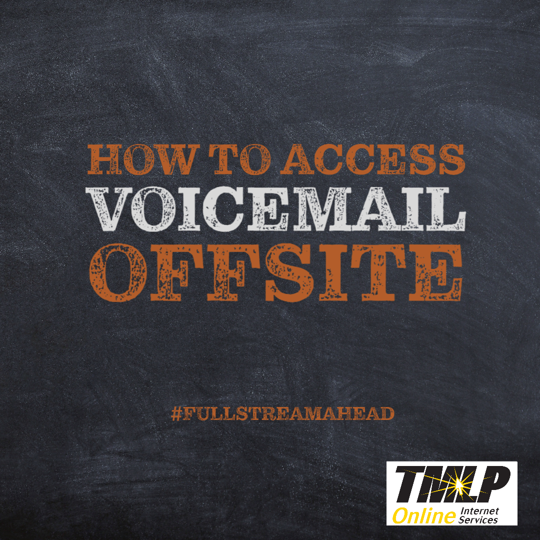 Access Voicemail From Offsite
