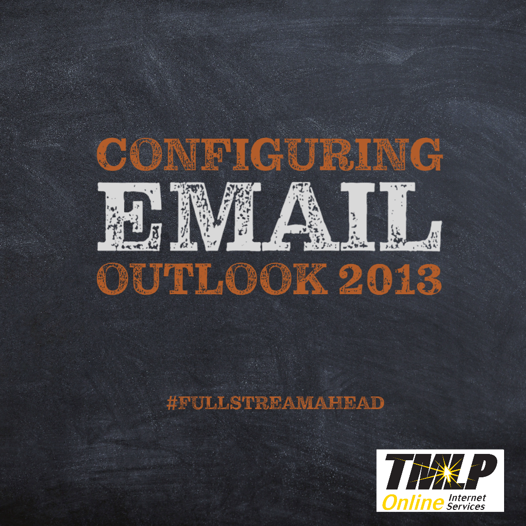 Setting Up TMLP Email in Outlook