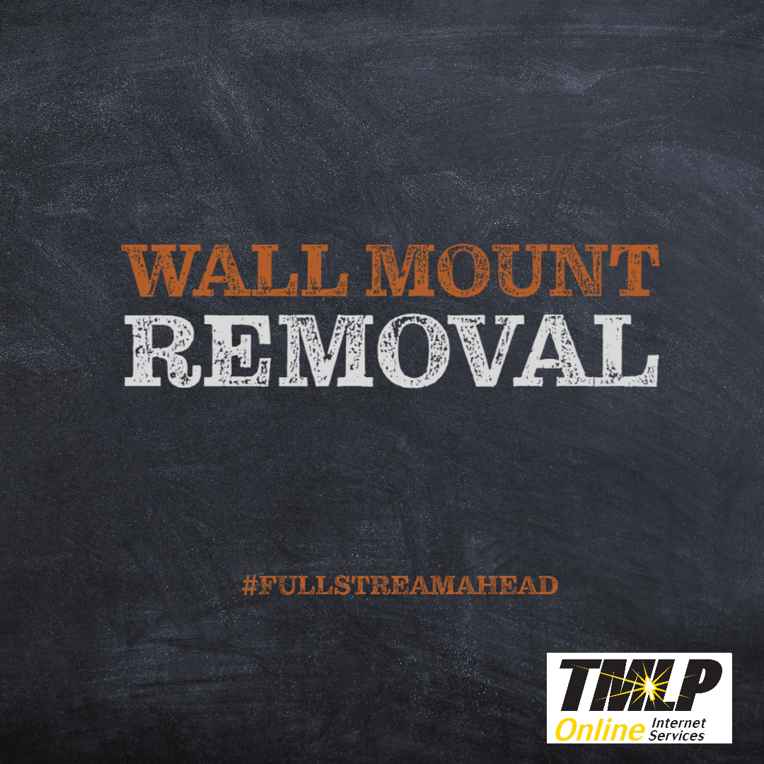 Wall Mount Removal