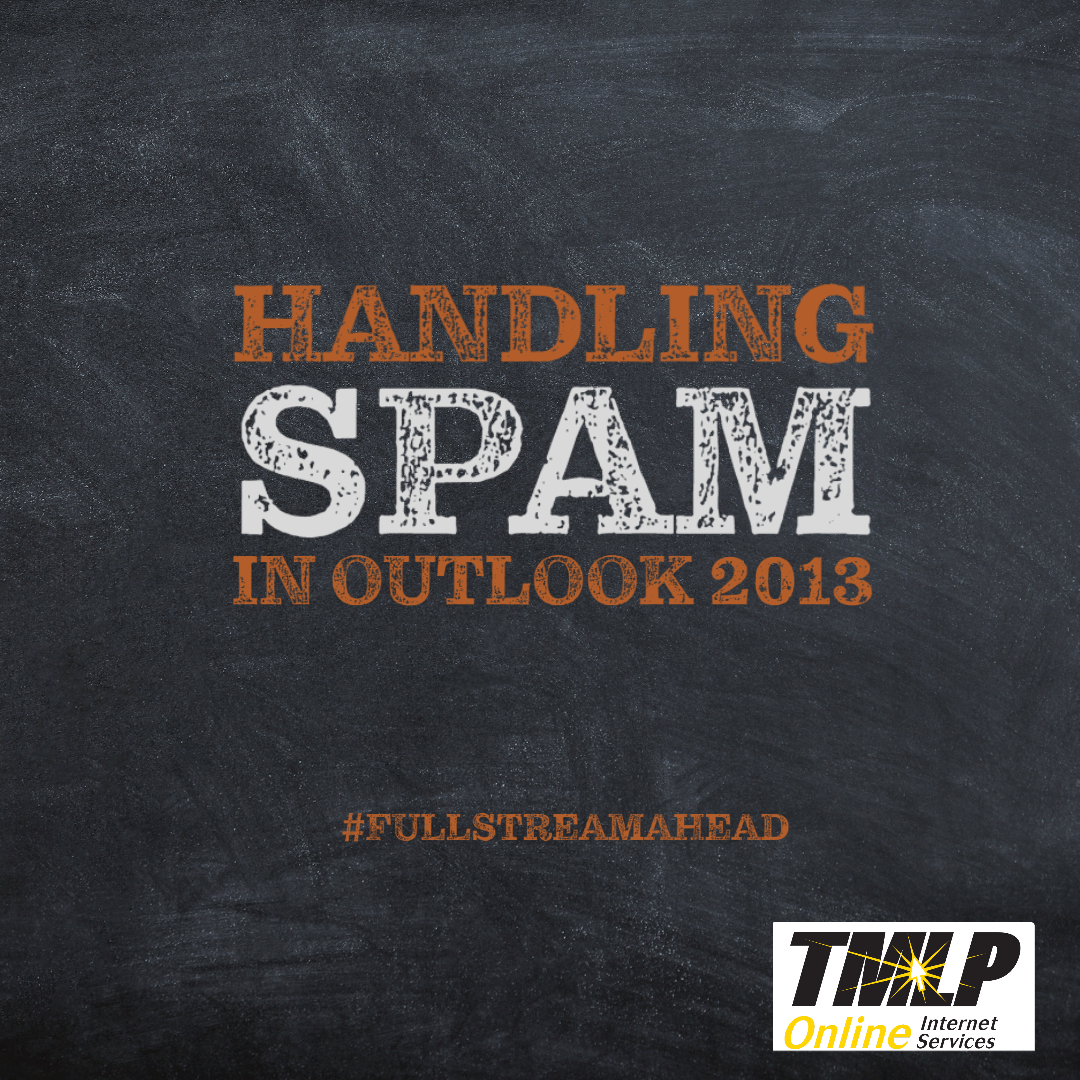 Handling SPAM in Microsoft Outlook