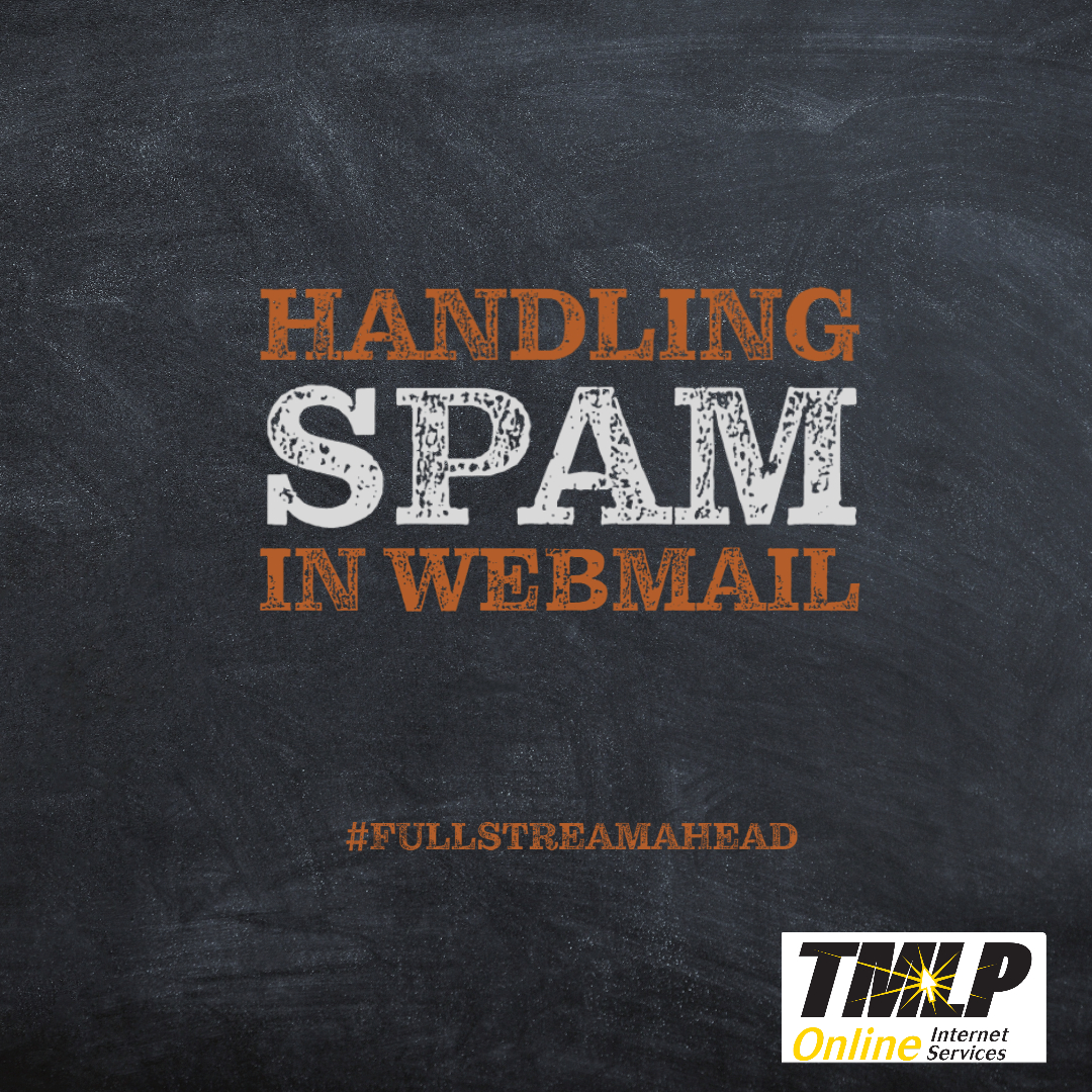 Handling SPAM in TMLP WebMail